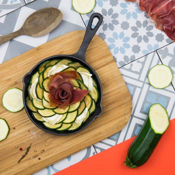 Recette jambon de bayonne, courgette, Jambon de Bayonne, chevre