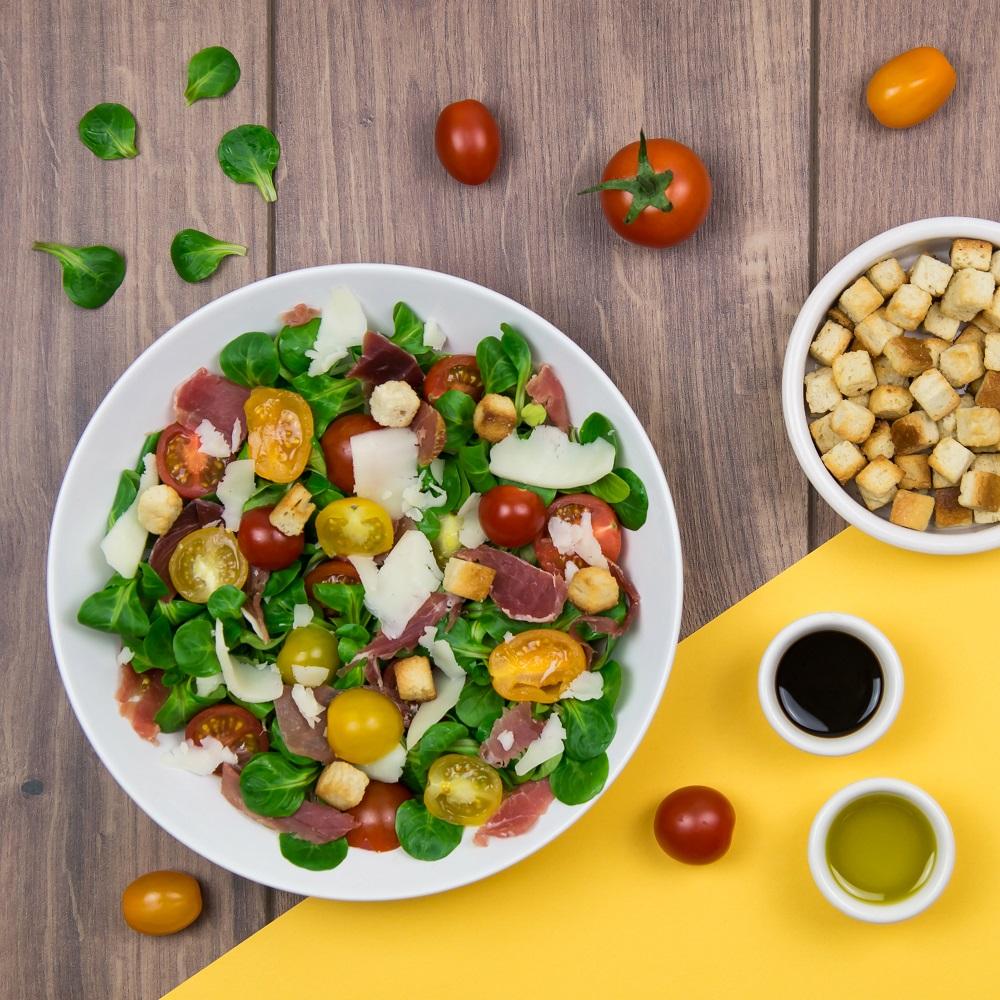 Recette jambon de bayonne, Salade, Salade Jambon de Bayonne