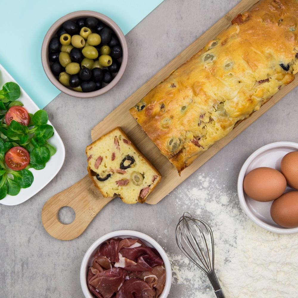 Recette jambon de bayonne, Cake, Cake salé, Jambon de Bayonne, Cake jambon de bayonne